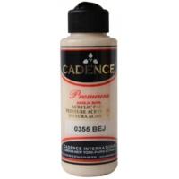 Cadence Premium Akrilik Boya 120ml 0355 Bej
