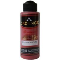 Cadence Premium Akrilik Boya 120ml 9510 Country Kırmızı