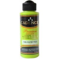 Cadence Premium Akrilik Boya 120ml 1295 Fıstık Yeşili