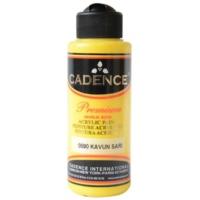 Cadence Premium Akrilik Boya 120ml 0590 Kavun Sarı