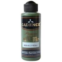 Cadence Premium Akrilik Boya 120ml 8020 Avcı Yeşili