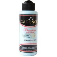 Cadence Premium Akrilik Boya 120ml 9040 Bebek Mavi