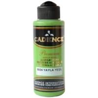 Cadence Premium Akrilik Boya 120ml 8024 Yayla Yeşili