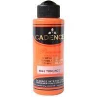 Cadence Premium Akrilik Boya 120ml 9046 Turuncu