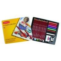 Derwent Pastel Collection Pastel Koleksiyonu 24'lü Teneke Kutu