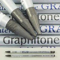 Derwent Suda Çözünebilen Ağaçsız Grafit Kalem 4B Medium Wash