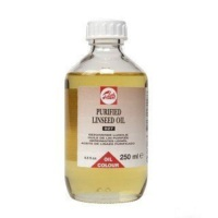 Talens Purified Linseed Oil 027 Saf Keten Tohumu Yağı 250 ml.