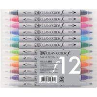 Zig Clean Color F Serisi Çift Uçlu Kalem Seti 12 Renk