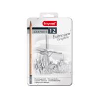 Bruynzeel Expressıon Graphite 12Li Set B7715m12
