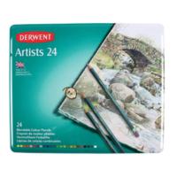 Derwent Artist 8,00 mm (Balmumu Dokulu) Kuru Boya Seti 24'lü (32093)