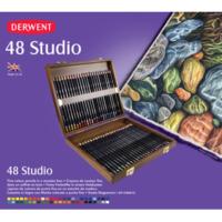 Derwent Studio 48'Li Ahşap Kutu Dw0700822
