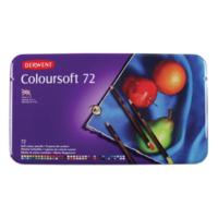 Derwent Coloursoft 72'Lı Teneke Kutu Dw0701029