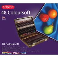 Derwent Coloursoft 48'Li Ahşap Kutu Dw2301660