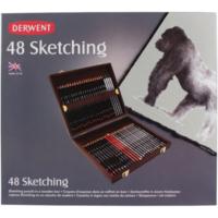 Derwent Sketching 48'Li Ahşap Kutu Dw0700759