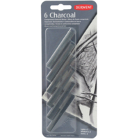 Derwent Compressed Charcoal 6'Lı Blister Dw35996