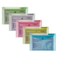 Snopake Polyfile A4 Çıtçıtlı Dosya(330X240mm)Klasik Renkler Sp12843x
