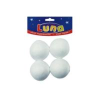 Luna 601633 Köpük Top 60Mm-4'Lü