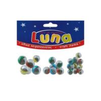Luna Oynar Renkli Göz Set (4X20mm 8X16mm 10X12mm) 22Li Lna0601308