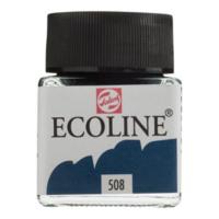 Talens Ecoline Jar 30Ml. Pruss. Blue 508 Rt11255080