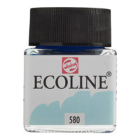 Talens Ecoline Jar 30Ml. Past. Blue 580 Rt11255800