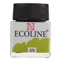 Talens Ecoline Jar 30Ml. Grass Green 676 Rt11256760