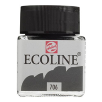 Talens Ecoline Jar 30Ml. Deep Grey 706 Rt11257060