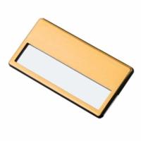 Bk Sürgülü Metal Yaka İsimliği (altın)