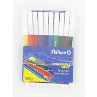 Keçeli kalem Pelikan Keçeli Boya Kalemi Colorella Star 10 LU