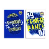 Fenerbahçe A4 80 Yp.Kareli Pp Kapak Defter Ksk-320122-65