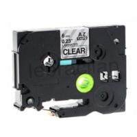Sarf Muadil Brother P-Touch Tz-Tape 9Mm Beyaz-Siyah Etiket 9Tze-221