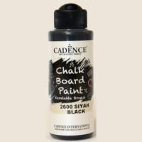 Cadence Karatahta Boyası Chalkboard Paint 2600 Siyah 120ml