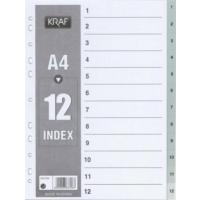Kraf 1012 Separatör 1-12 Rakam