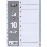 Kraf 1010 Separatör 1-10 Rakam