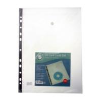 Serve CD Cepli Çıtçıtlı Zarf Şeffaf Sv-6108
