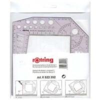 Rotring Proje Tahtası Şablonu S0232590