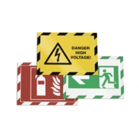 Durable Mıknatıslı Güvenlik Çerçeveleri Kırmızı/Beyaz 2'li 4944