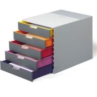 Durable Varıcolor Çekmeceli Evrak Rafı-5 Renkli