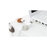 Bluelounge Cabledrop Kablo Tutucu 6Lı-Beyaz