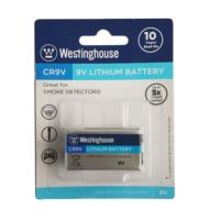 Westinghouse 9V Lityum Şarj Olmayan Duman Dedektör Pili