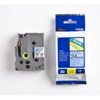 Brother P-Touch Tz-Tape 24Mm Mavi-Siyah Etiket 24Tze551