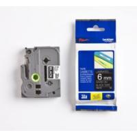 Brother P-Touch Tz-Tape 6Mm Siyah-Beyaz Etiket 6Tze315