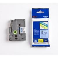 Brother P-Touch Tz-Tape 9Mm Mavi-Siyah Etiket 9Tze521