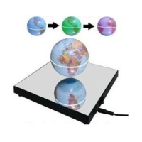 Acayipşeyler Sihirli Dünya Havada Dönen Işıklı Küre Ayna Taban