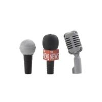 Kıkkerland Silgi Set - Mikrofon 3Lü