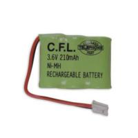 Cfl 3.6V 210 Mah Yeşil Telsiz Telefon Pili