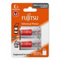 Fujitsu Universal Power Lr14 Alkaline Orta Boy C Size Pil 2Li Blister