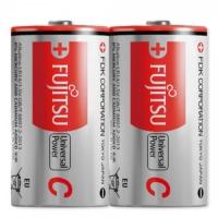 Fujitsu Universal Power Lr14 Alkaline Orta Boy C Size Pil 2Li Shrink