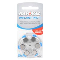 Rayovac Cochlear Implant 675 Numara Kulaklık Pili 6Lı