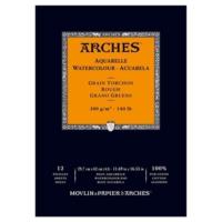 Arches Suluboya Blok Defter - Kalın Doku - 300 gr A3 12 Yp.
