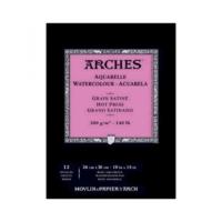 Arches Suluboya Blok Defter - Düz Doku - 300 gr 26 x 36 cm 12 Yp.